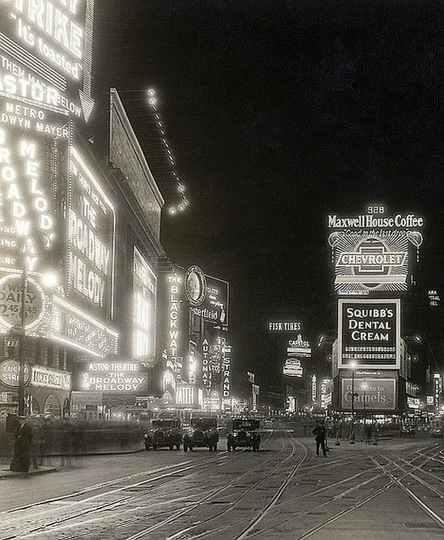 Times Square, NYC,1929