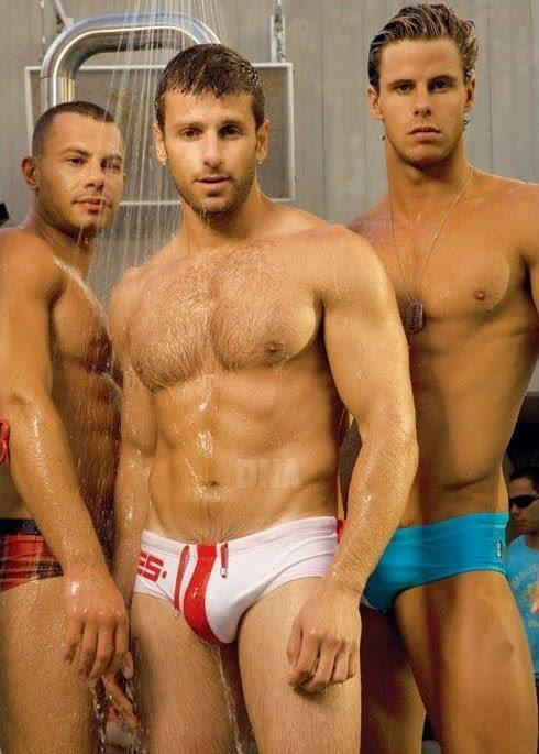 Gratuitous Wet European Swimwear Models
