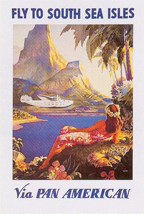 Pan Am – Take a flying clipper to the SouthSeas