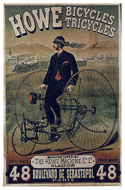 Old Time Bicycles andTricycles