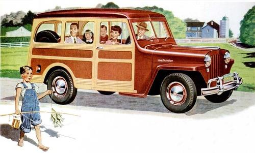 Jeep Wagon, 1946