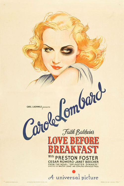 "Carole Lombard in ""Love Before Breakfast"""
