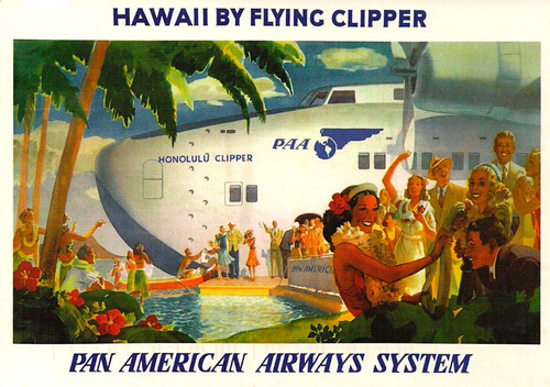 Hawaii by Pan Amclipper