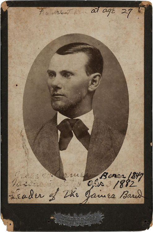 Jesse James at age27