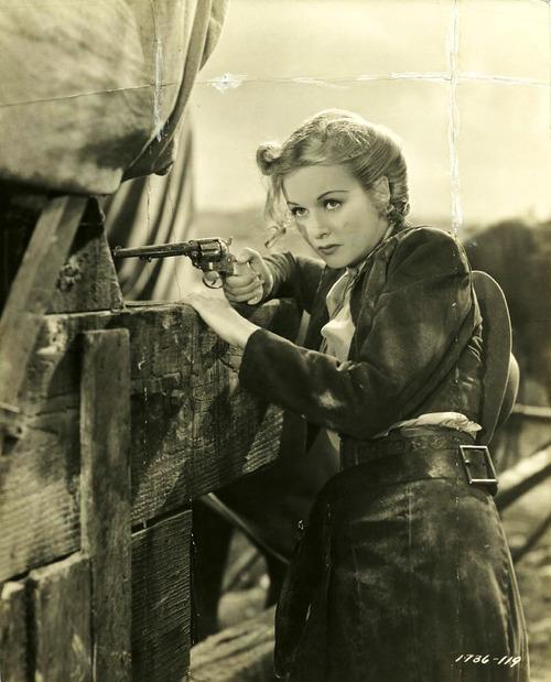 "Joan Bennett in ""The Texans"",1938"