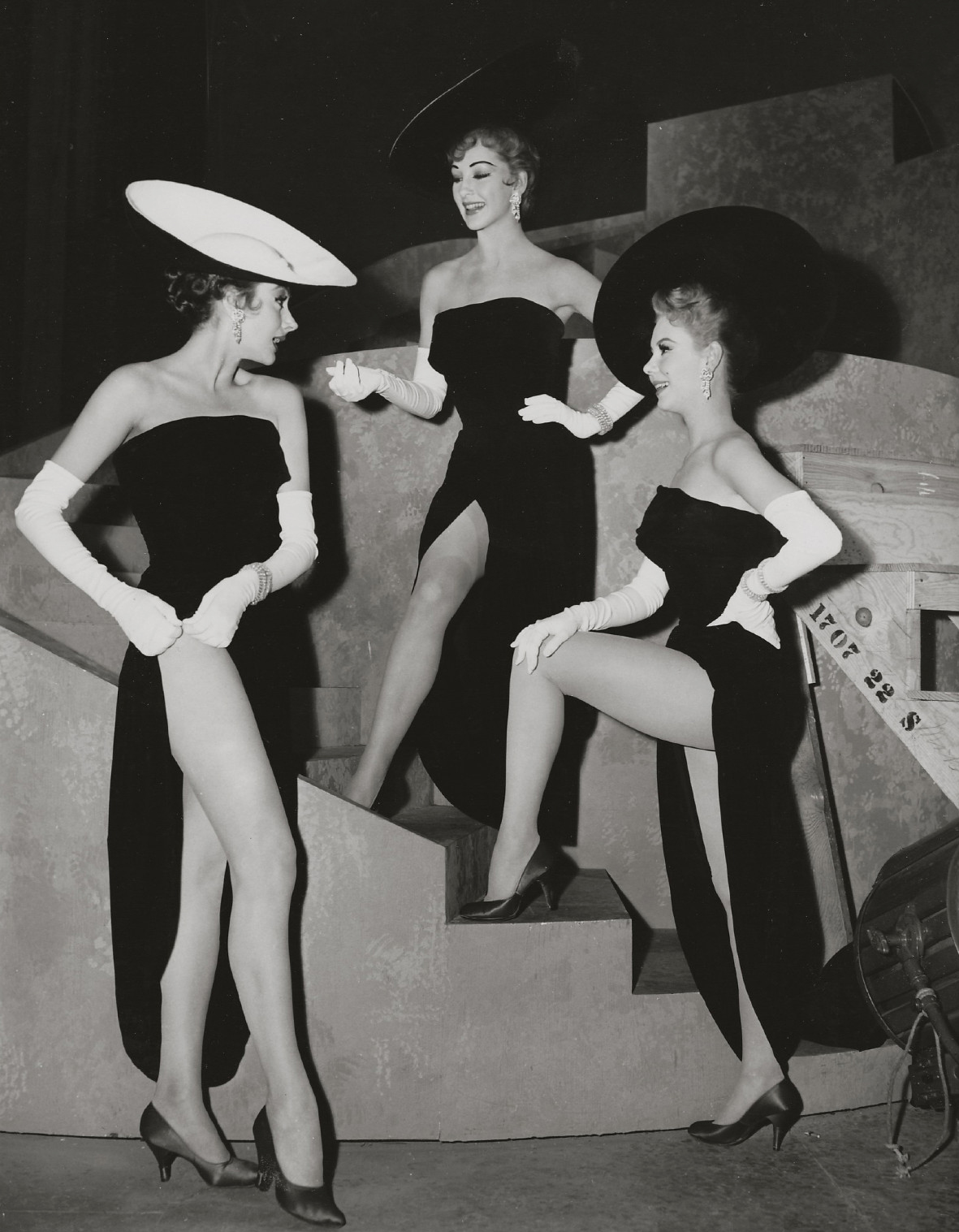 """From the movie """"Les Girls"""" (Mitzi Gaynor on theright)"""