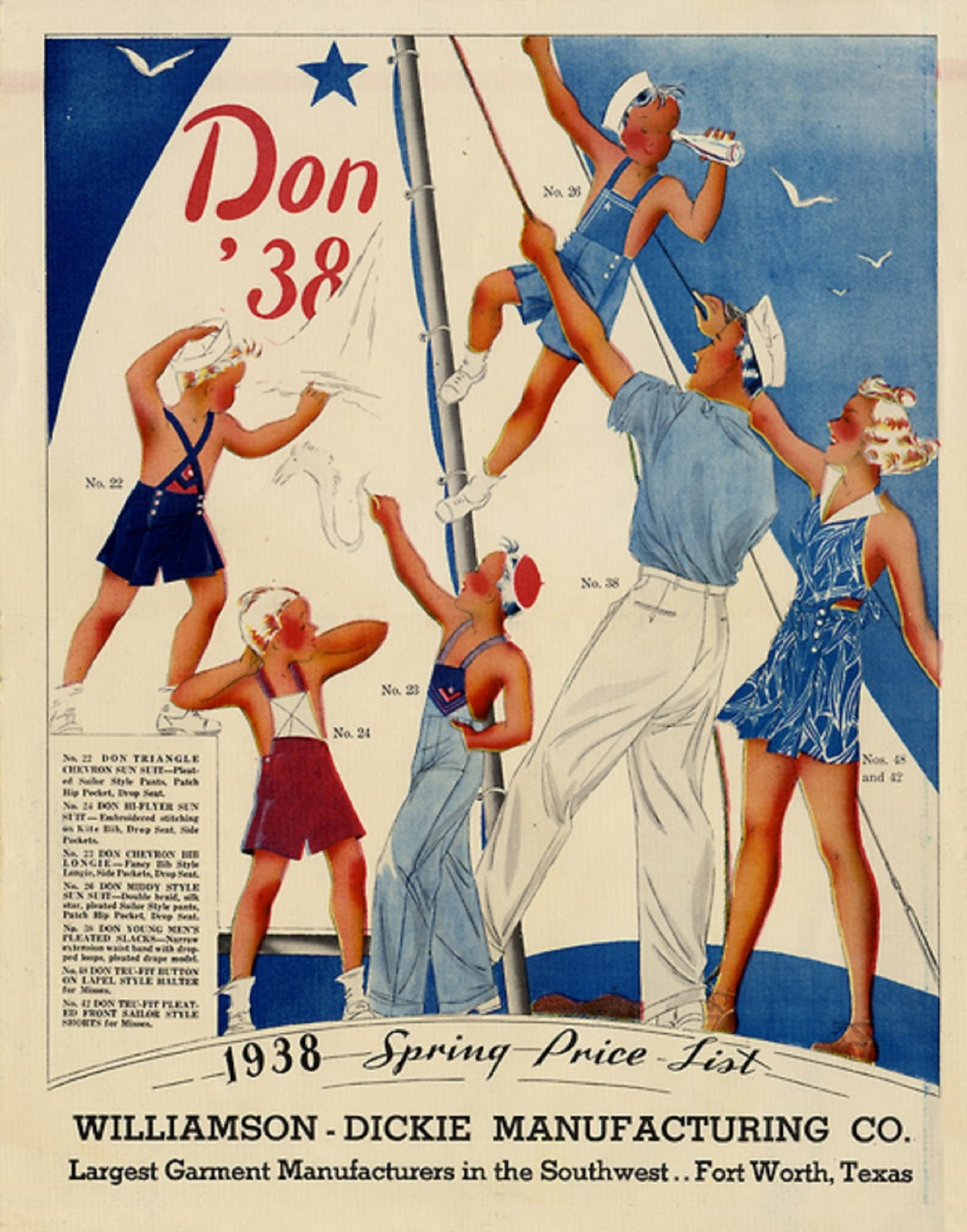 Sailor fashions for the whole family,1938