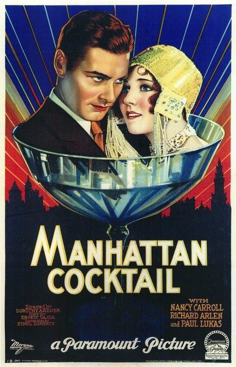 Manhattan Cocktail, 1928
