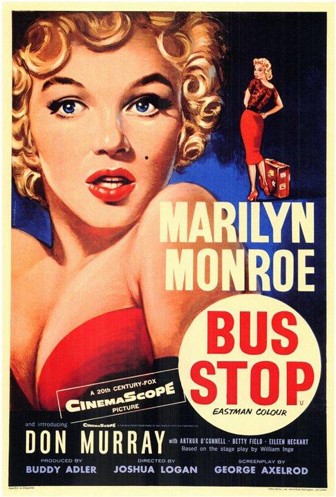"""Marilyn Monroe in """"BusStop"""""""