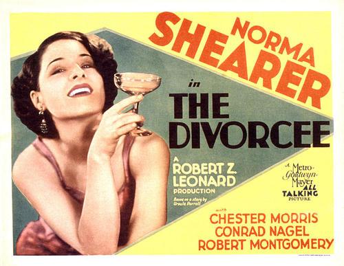 Norma Shearer in The Divorcee,1930