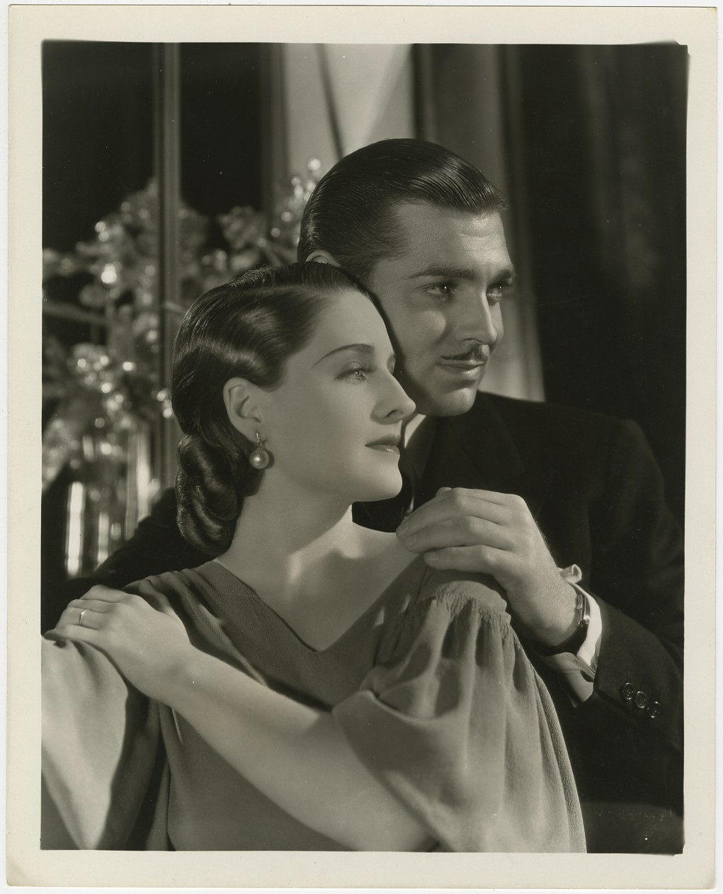 Norma Shearer and Clark Gable, photographed by GeorgeHurrell