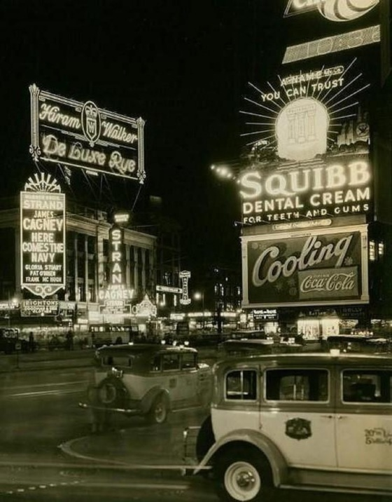 NYC times square 1920s