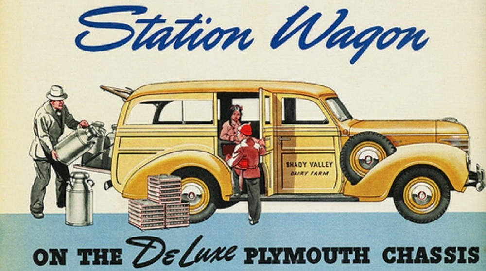 Plymouth Station Wagon,1940s