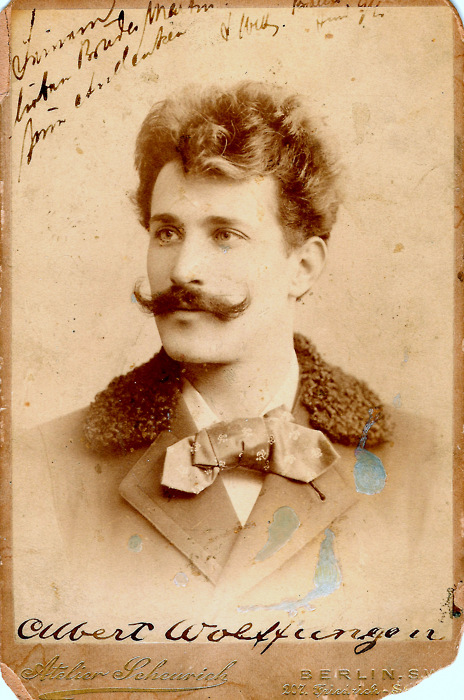 German man with astache