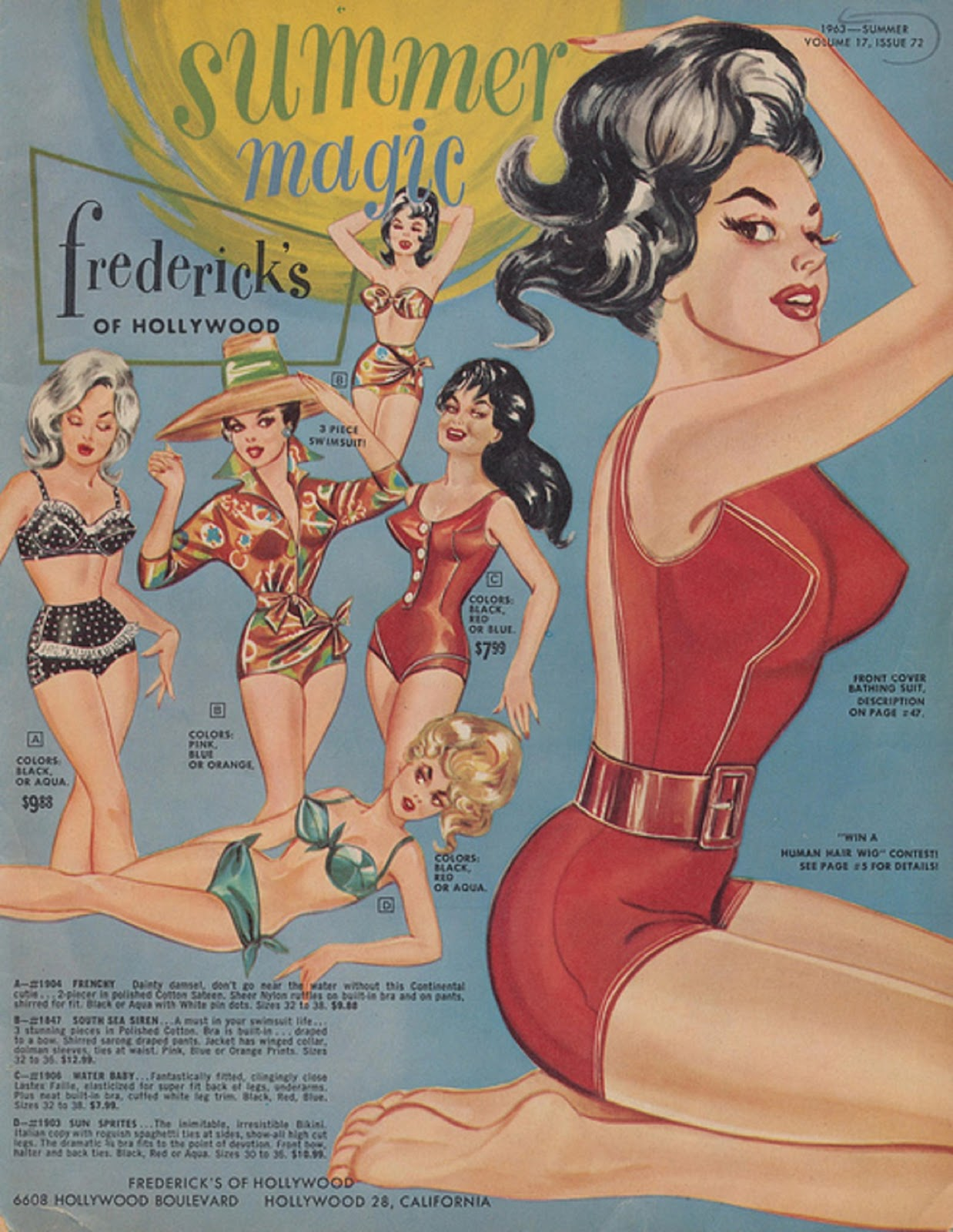 Summer Magic from Frederick's of Hollywood, 1963