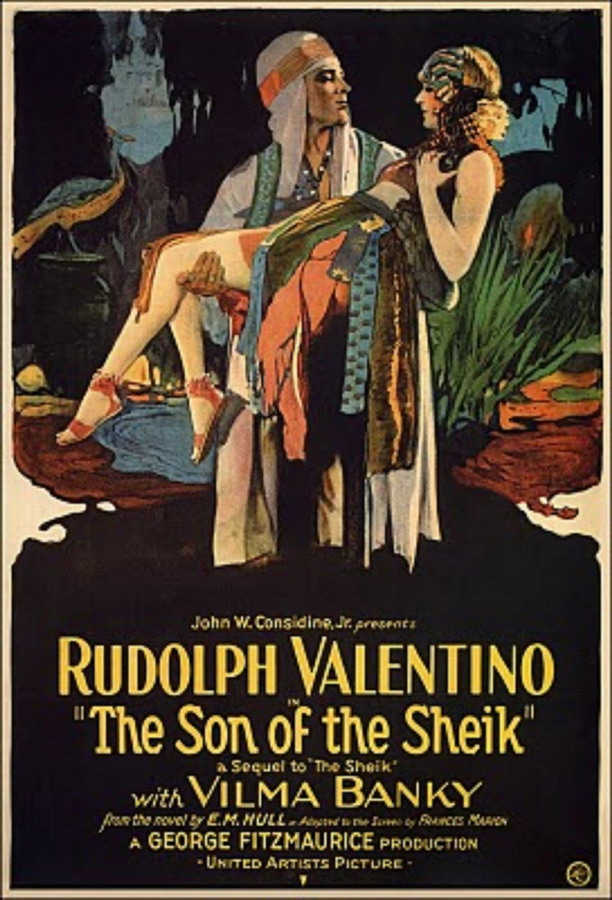 "Rudolph Valentino in ""The Son of the Sheik"", 1926"