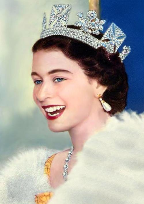 Queen Elizabeth II, 1950s | Matthew's Island of Misfit Toys