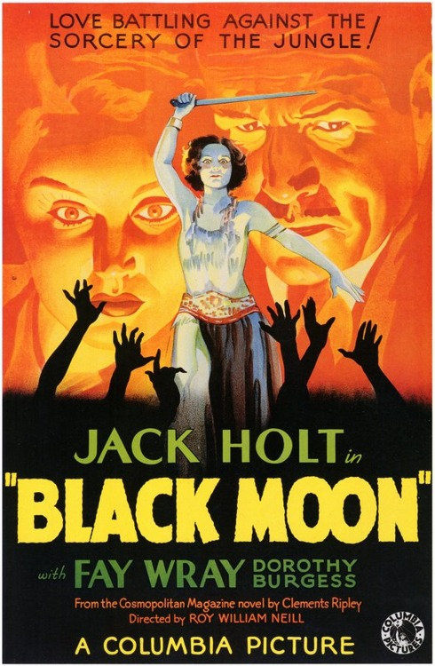 "Jack Holt and Fay Wray in ""Black Moon"""