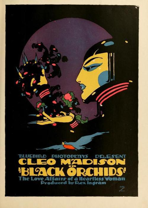 "Cleo Madison in ""Black Orchids"", The Love Affairs of a Heartless Woman"