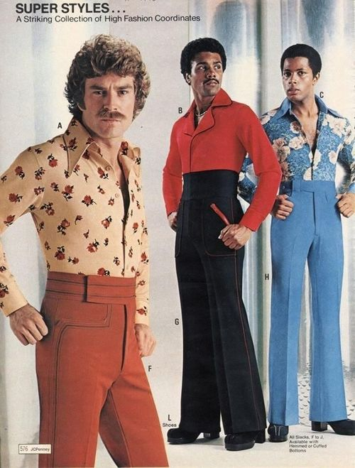 """""""A striking collection of high fashion coordinates"""", 1970s"""