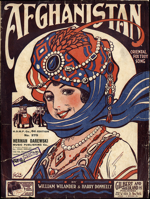 Old Sheet Music – Afghanistan