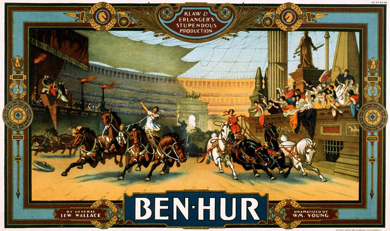 """From an old production (pre-Charlton Heston) of """"Ben-Hur"""""""
