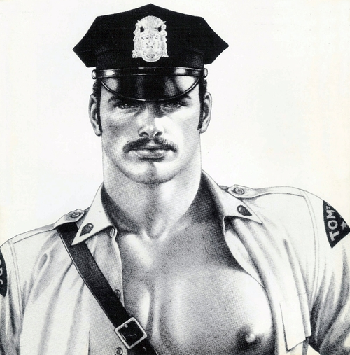Cop by Tom ofFinland