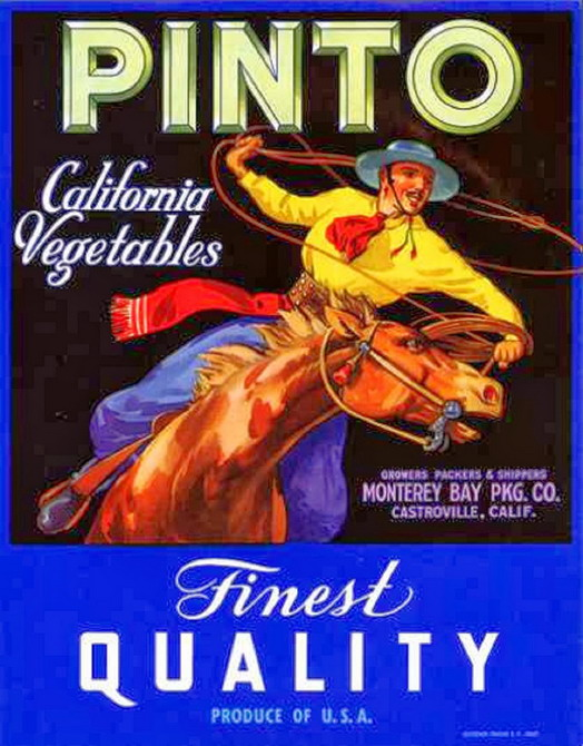 Pinto vegetables label