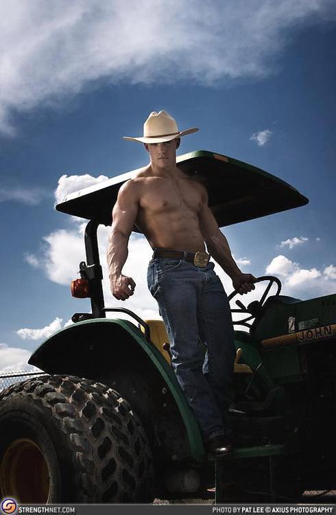 Gratuitous Shirtless Cowboy