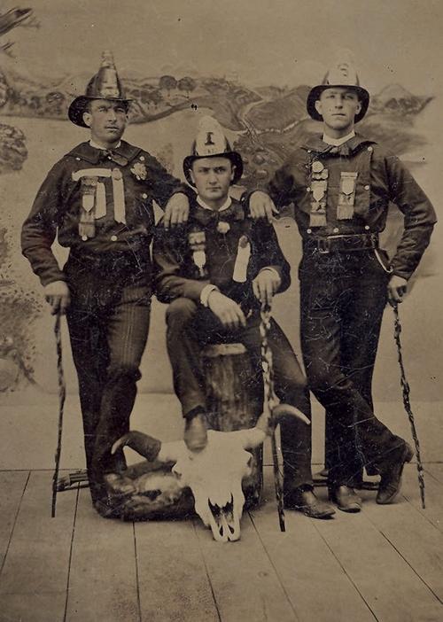 Firemen, 1800s