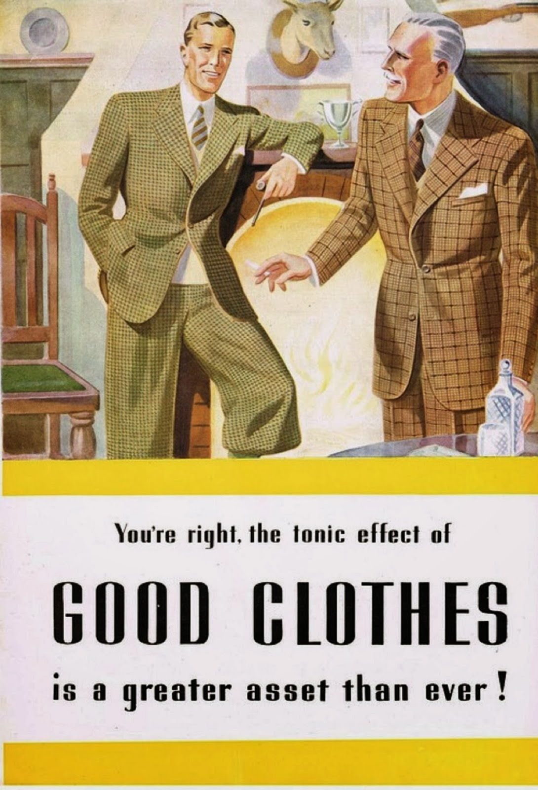 The tonic effect of goodclothes