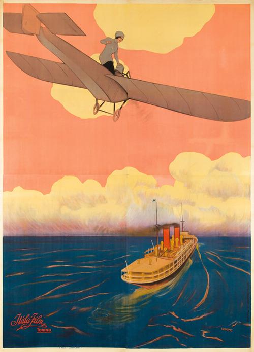 Air and Sea, 1910's, by LeopoldoMetlicovitz