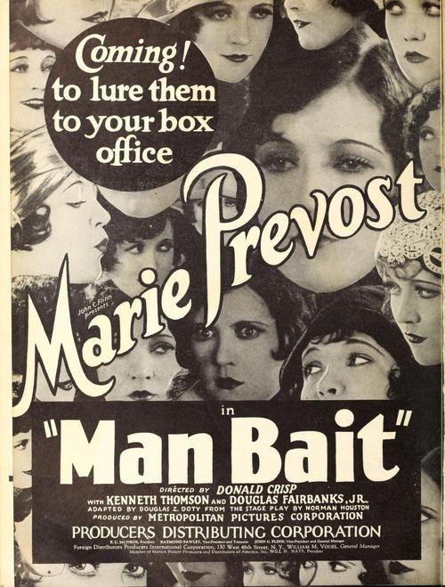 """Man Bait"" (1920s)"
