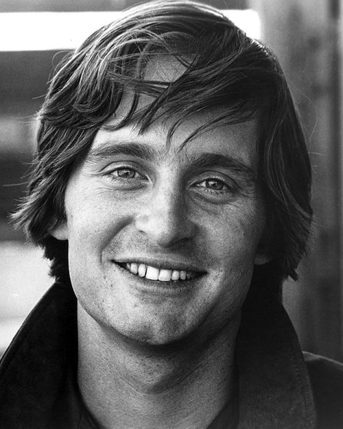 Michael Douglas when he was young