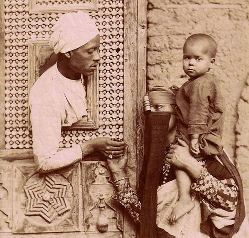 A North African Family, circa 1890s