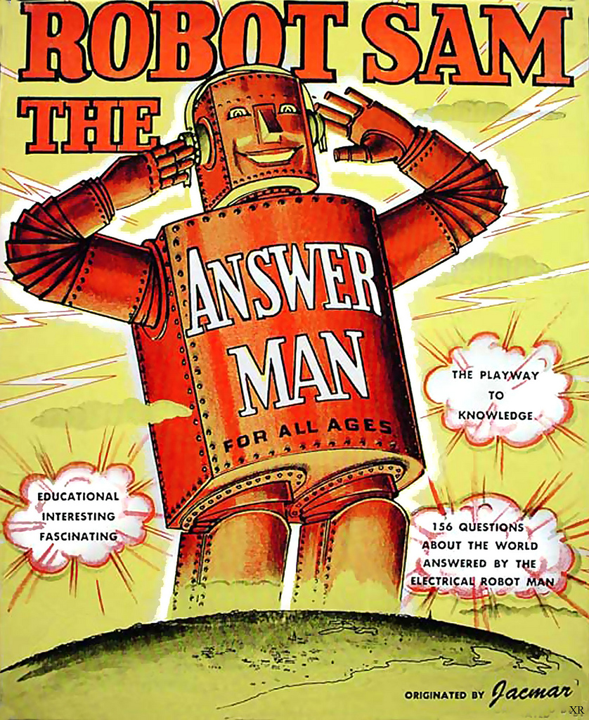 Robot Sam the Answer Man
