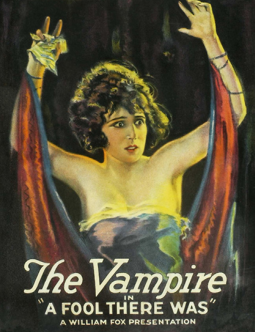 """The Vampire in """"A Fool ThereWas"""""""