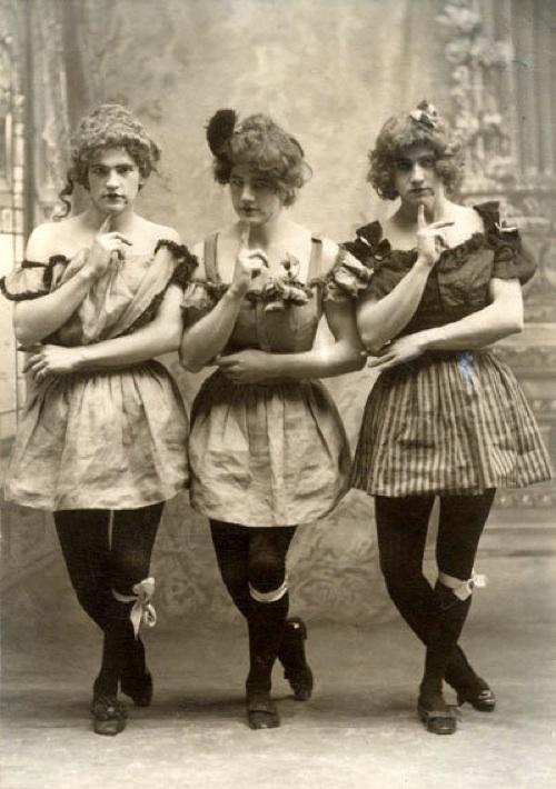 yale students drag 1883