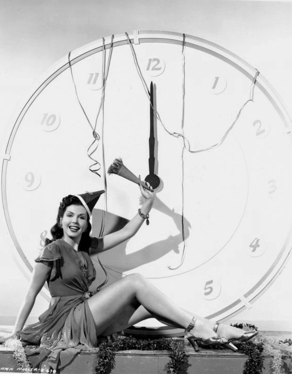 Happy New Year from Ann Miller