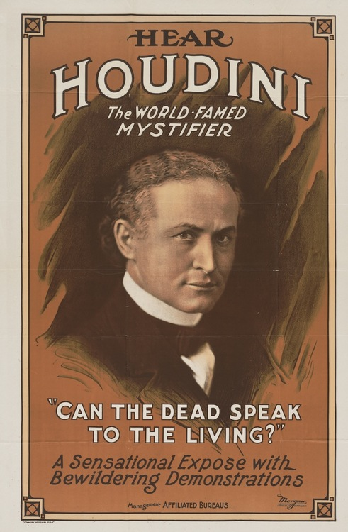 Houdini, the World-Famed Mystifier