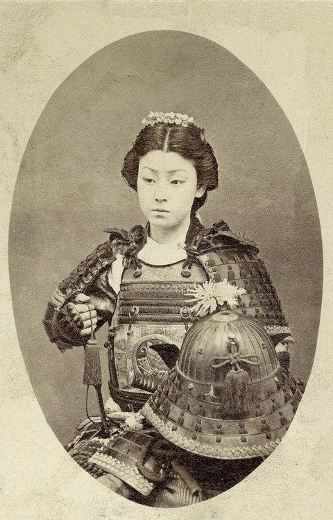 japanese warrior woman