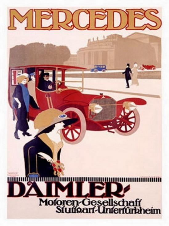 Daimler, 1910s