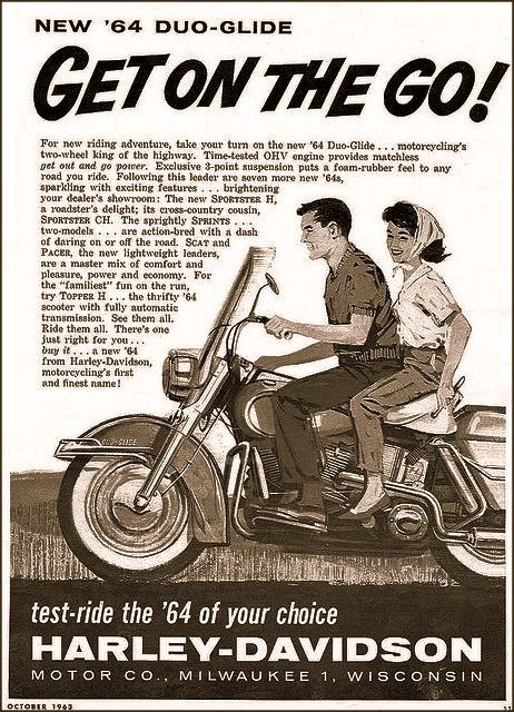 1964: Harley-Davidson Duo-Glide