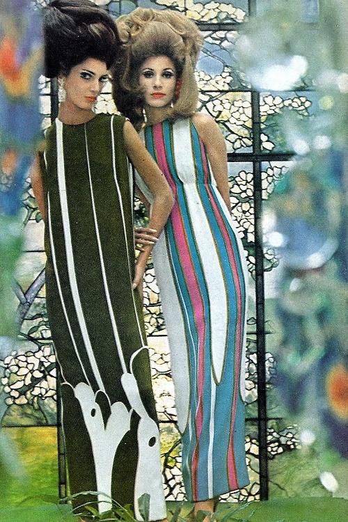 BIG hair, 1965 fashionad