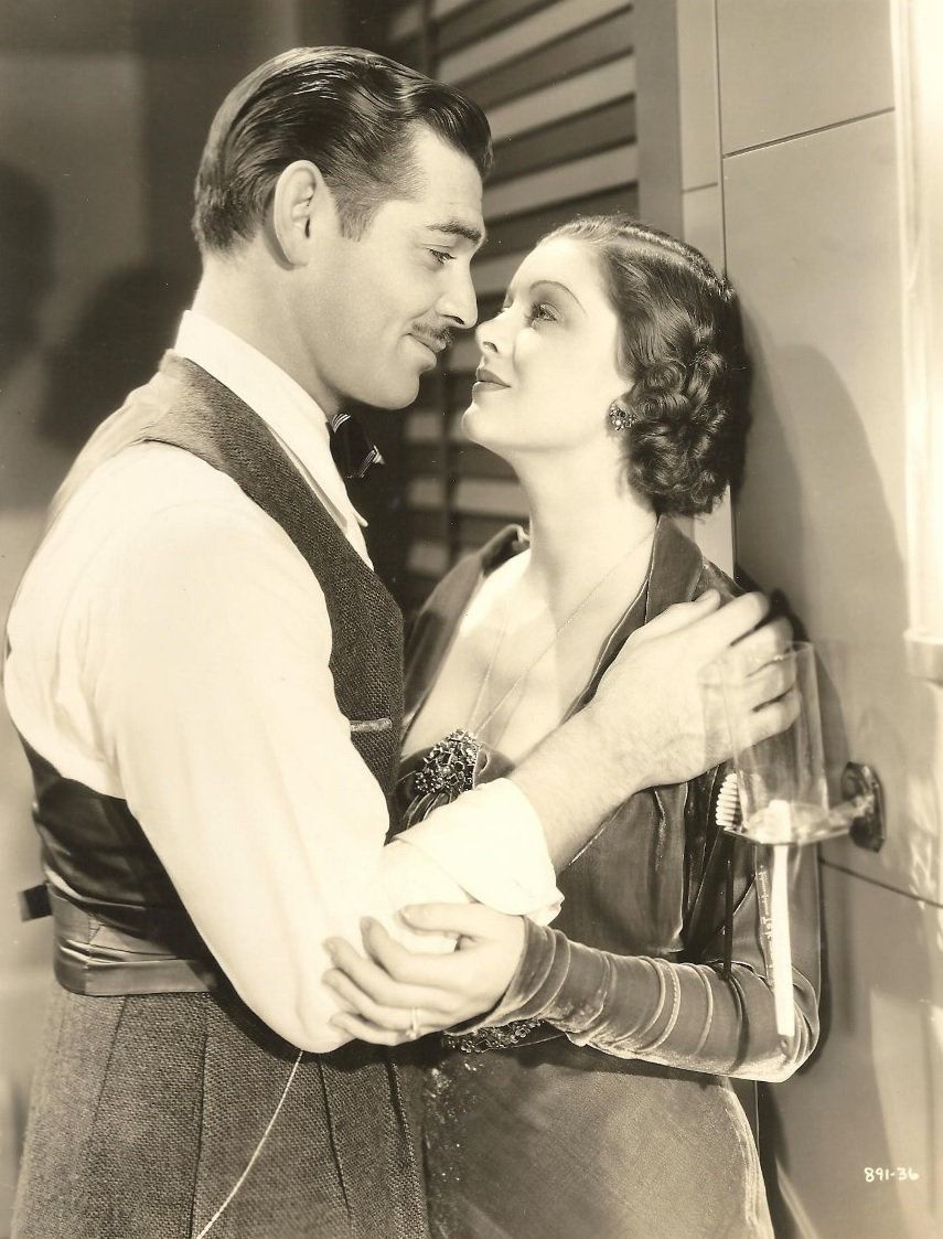 Clark Gable and Myrna Loy, 1930s