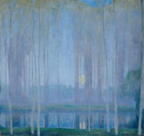 """Yellow Moon"" by Edward Steichen,1909"