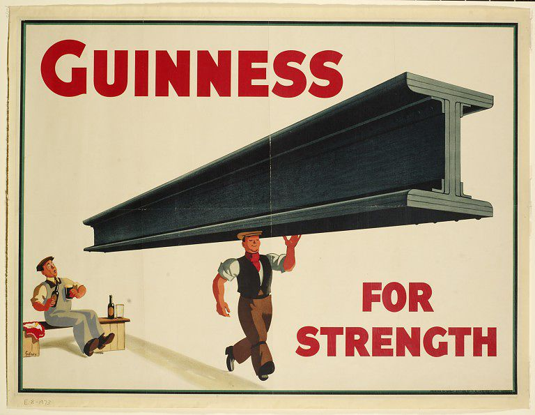 Guinness for strength!