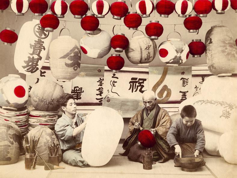 Japanese Lanterns, 1895