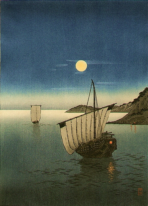 Japanese Art – Boat