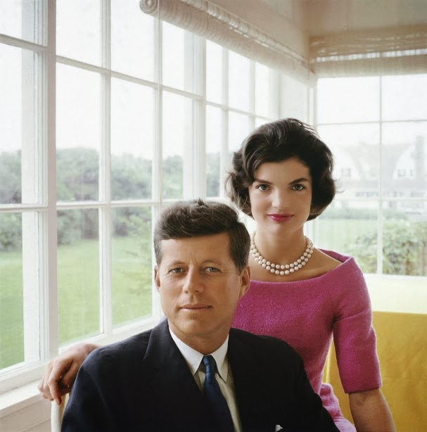 JFK and Jackie, late 1950s, Cape Cod